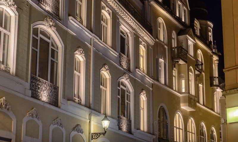 hôtel de luxe en Russie